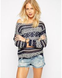 Pepe Jeans Striped Sweater blue - Lyst