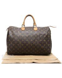 Louis Vuitton Pre-owned Monogram Speedy 40 Bag - Lyst