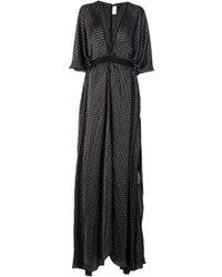 Maison Rabih Kayrouz Polka Dot Print Gown - Lyst