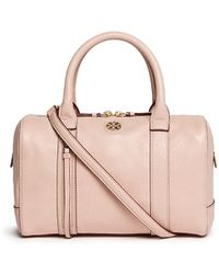 Tory Burch 'Brodie' Small Leather Satchel - Lyst