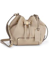 Vince Camuto Jill Leather Crossbody Bag - Lyst