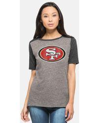 47 Brand | 'san Francisco 49ers - Empire' Short Sleeve Graphic Tee | Lyst
