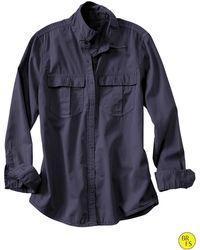 Banana Republic | Factory Soft-wash Garment-dyed Shirt | Lyst