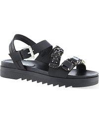 Carvela Kurt Geiger Koral Embellished Sandals - For Women black - Lyst