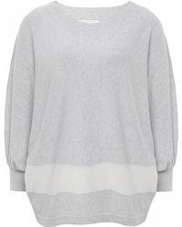 Duffy Batwing Stripe Sweater - Lyst