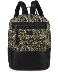 Christian Louboutin Aliosha Printed-Canvas And Leather Backpack - Lyst