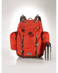Polo Ralph Lauren Nylon Backpack - Lyst