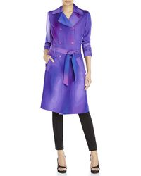 Missoni Belted Trench Coat - Lyst