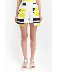 Paper London | Printed Marble Short | Lyst