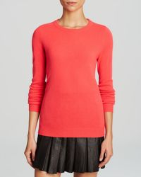 C By Bloomingdale's Crewneck Cashmere Sweater - Lyst
