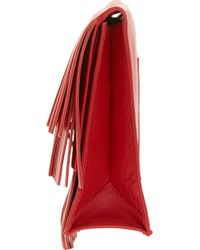 Proenza Schouler Mandarin Red Small Fringed Lunch Bag - Lyst