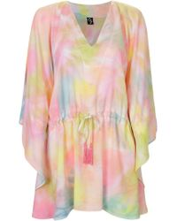 Skinbiquini - Abstract Print Beach Dress - Lyst