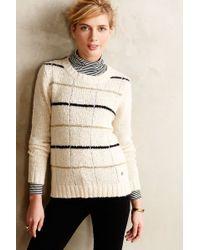 Numph Glimmer-Stripe Pullover - Lyst