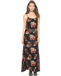 Free People Printed Maxi Dress - Hibiscus Combo - Lyst