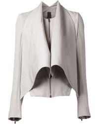 Gareth Pugh Belted Jacket - Lyst