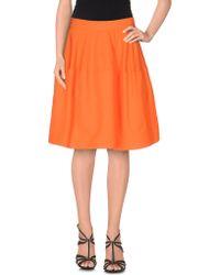 P.A.R.O.S.H. | Knee Length Skirt | Lyst