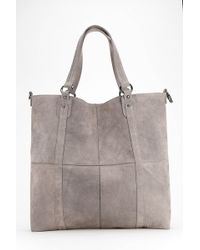 4a55e275e Hot Ecote - Suede Patchwork Tote Bag - Lyst