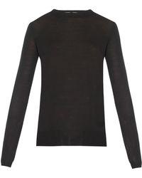 Proenza Schouler Fine-Knit Merino-Wool Sweater - Lyst