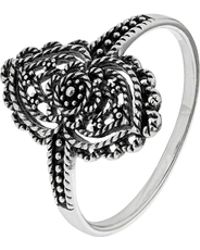 Accessorize - Sterling Silver Filigree Ring - Lyst