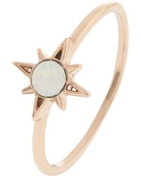 Accessorize - Sparkle Star Ring With Swarovski® Crystal - Lyst