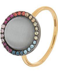 Accessorize - Rainbow Moonstone Ring - Lyst