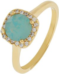Accessorize - Halo Ring With Swarovski® Crystals - Lyst