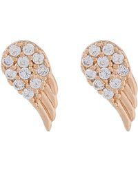 Accessorize - Angel Wings Stud Earrings - Lyst
