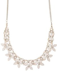 Accessorize - Poppy Petal Collar Necklace - Lyst