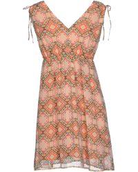 Lavand. Short Dress - Lyst