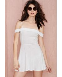Nasty Gal After Party Vintage Anette Knit Dress - Lyst