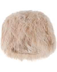 Temperley London Marabou Feather Shrug - Lyst