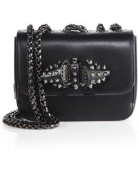 Christian Louboutin | Sweet Charity Baby Studded Leather Crossbody Bag | Lyst
