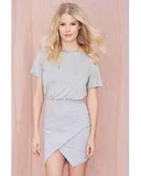 Nasty Gal Wrap Up Dress - Lyst