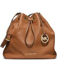 MICHAEL Michael Kors - Large Jules Drawstring Shoulder Bag - Lyst