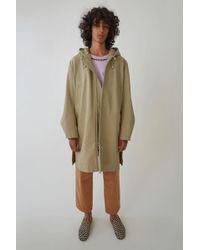 Acne Studios - A-line Parka chino Beige - Lyst