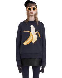 Acne Studios - Carly Banana navy - Lyst