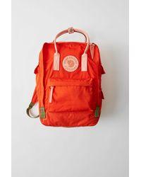Acne Studios Kånken Tarpaulin A/f Deep Orange Durable Classic Bag