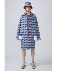 Acne Studios - Carpenter Skirt light Vintage Purple Cloud - Lyst