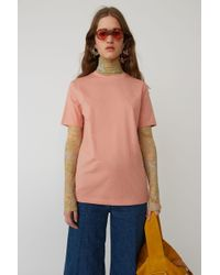 Acne Studios - Boy Fit T-shirt light Pink - Lyst