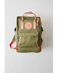 Acne Studios - Kånken Tarpaulin A/f Olive Green Durable Classic Bag - Lyst
