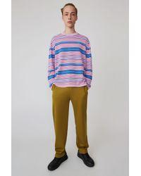 Acne Studios - Striped Jumper blush Pink/pink/aqua - Lyst