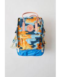 Acne Studios - Kånken Tarpaulin P A/f Blue/orange Durable Classic Bag - Lyst