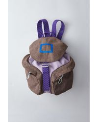 Acne Studios - Backpack lilac - Lyst