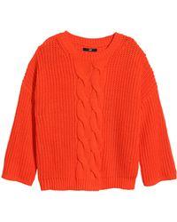 H&M Rib-Knit Jumper - Lyst