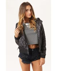 Capulet Quilted Hooded Jacket - Lyst