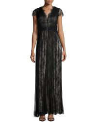 Catherine Deane   Short-sleeve Lace Gown   Lyst