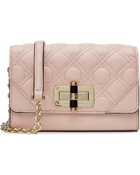 Diane von Furstenberg Textured Leather Shoulder Bag - Lyst