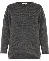 Helmut Lang Soft Grid Wool-blend Sweater - Lyst