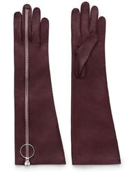 Acne Studios Nicole Long Bordeaux - Lyst