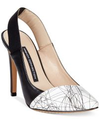 French Connection Maemi Slingback Pumps - Lyst